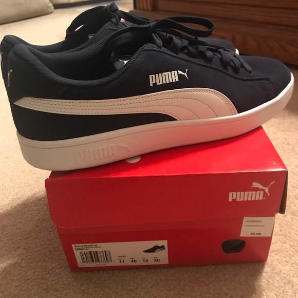 Puma Shoes | Mens Puma Smash V2 Shoes